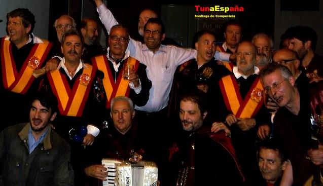 54, TunaEspaña, Don Dudo, Santiago de Compostela, Cancionero Tuna,dism