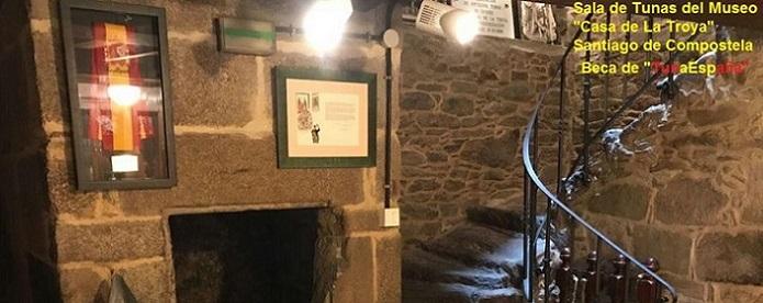 Beca TunaEspaña, Casa La Troya, Santiago de Compostela, don dudo