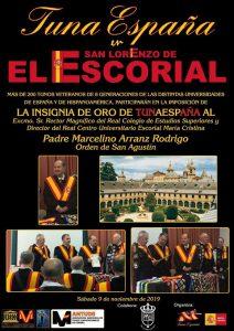 Carlos Espinosa Celdran, Don Dudo, Rector El Escorial, TunaEspaña, Marcelino Arranz Rodrigo
