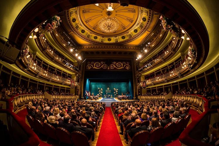 Ceremonia de entrega de los Premios Princesa de Asturias 2015, dism