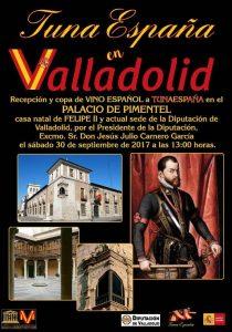 TunaEspaña, Don Dudo, Carlos Espinosa Celdran, Palacio Pimentel, Felipe II, Valladolid,Dism