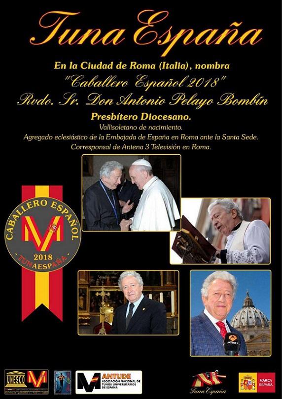 TunaEspaña, Antonio Pelayo, Corresponsal Vaticano
