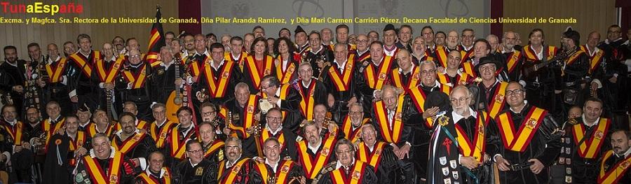 TunaEspaña-Carlos-Espinosa-Celdran-Don-Dudo-Rectora-Pilar-Aranda-Ramírez-carmen-carrion-decana-facultad-ciencias-universidad-granadaco, dism