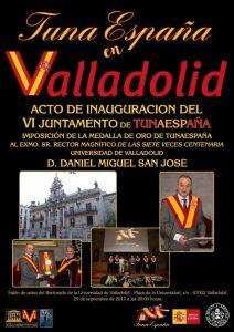 TunaEspaña, Carlos Espinosa Celdran, DonDudo, Don Dudo, Rector Universidad de Valladolid, Tuna España