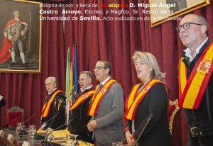 TunaEspaña, Don Dudo, Carlos Espinosa Celdran, D.Miguel Ángel Castro Arroyo, Excmo. y Magfco. Sr. Rector de la Universidad deSevilla, 2