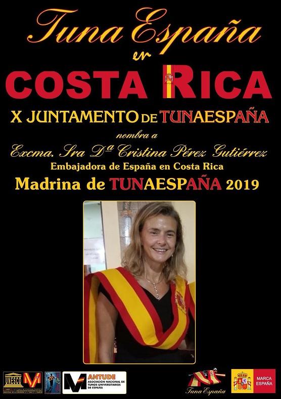 TunaEspaña, Don Dudo, Carlos Espinosa Celdran, Embajadora de Costa Rica