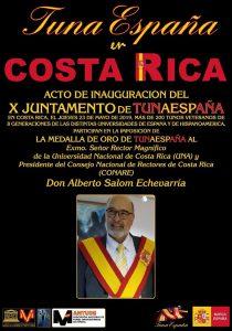 TunaEspaña, Don Dudo, Carlos Espinosa Celdran, Rector Alberto Salom Echeverría