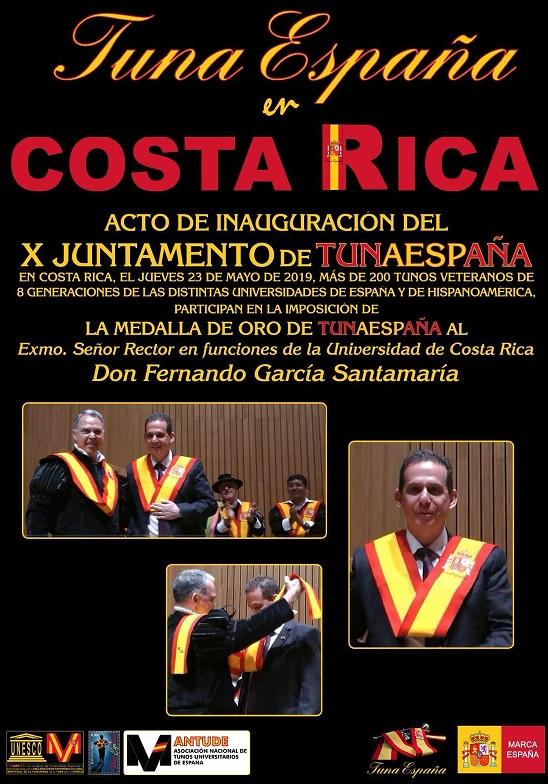 TunaEspaña, Don Dudo, Carlos Espinosa Celdran, Rector Universidad de Costa Rica
