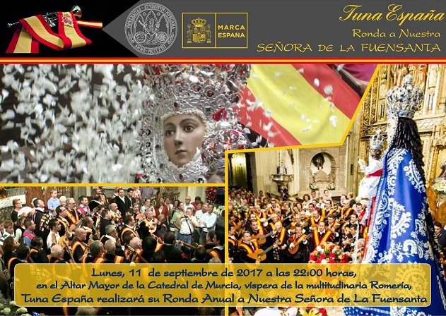 TunaEspaña, Don Dudo, Carlos Espinosa Celdran, Virgen de la Fuensanta,Dism