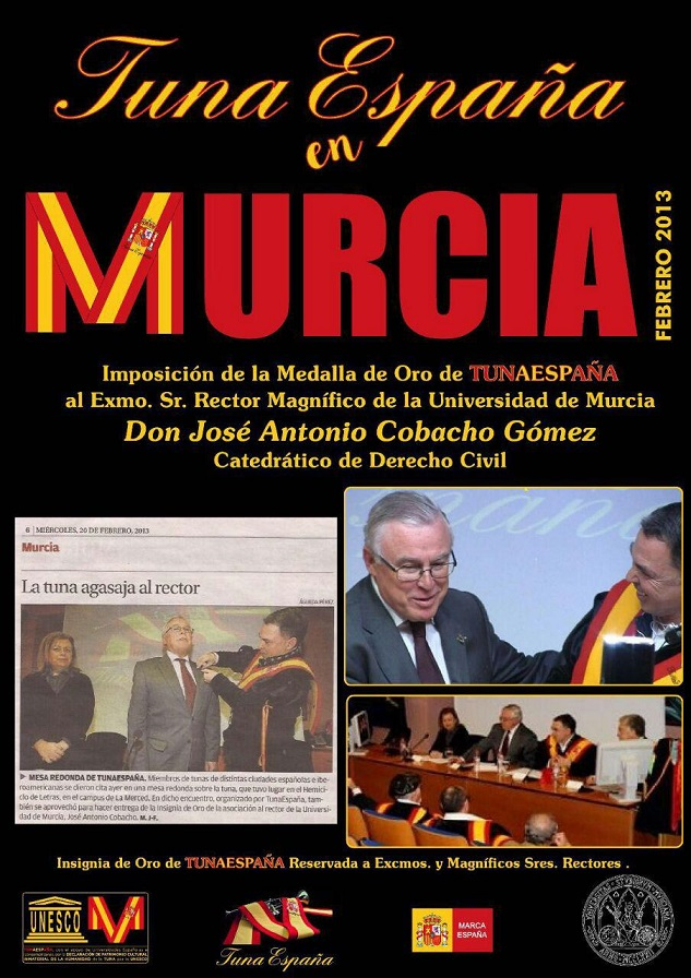 TunaEspaña, Don Dudo, DonDudo, Carlos Espinosa Celdran, Rector de Murcia