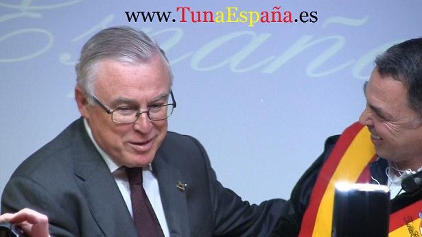 TunaEspaña, Don Dudo, Rector Universidad de Murcia, Insignia de oro TunaEspaña, Jose Antonio Cobacho Gomez