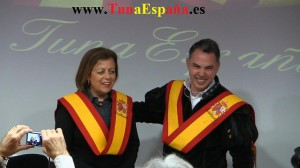 TunaEspaña, Don Dudo, Rector Universidad de Murcia, Insignia de oro TunaEspaña, Jose Antonio Cobacho Gomez,5