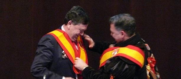TunaEspaña, Insignia de Oro, Rector, CRUE,03, dism
