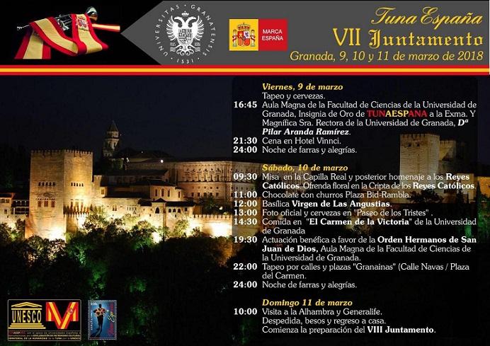 TunaEspaña, Juntamento Granada, Don Dudo, Carlos Espinosa Celdran, Dism