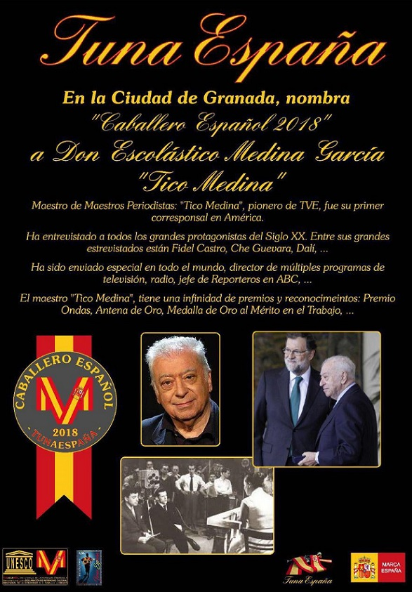 TunaEspaña, Juntamento Granada, Don Dudo, Carlos ignacio Espinosa Celdran,tico medina