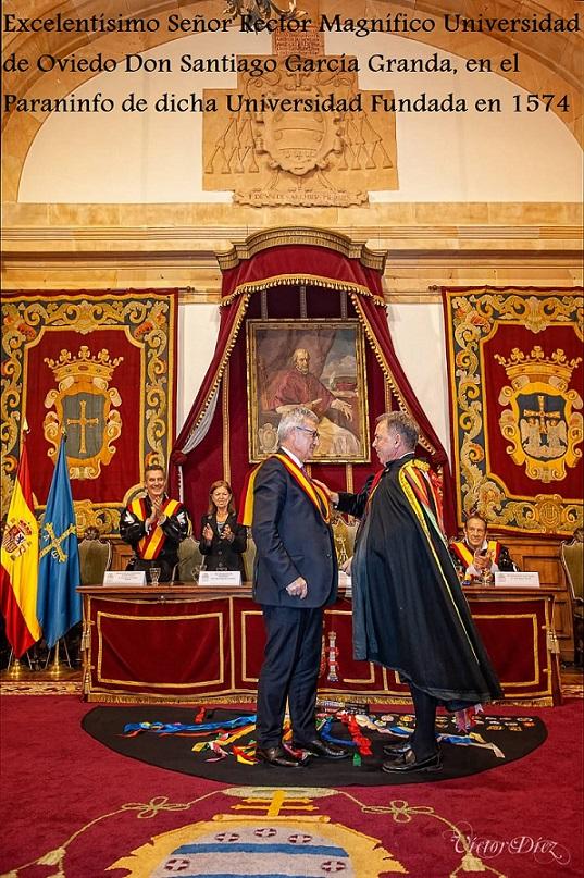 TunaEspaña, Rector Universidad de Oviedo, Carlos Espinosa Celdran, Don Dudo