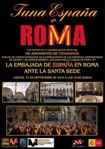TunaEspaña, Roma, Vaticano, Embajada de España ante la Santa SEDE, plaza españa roma