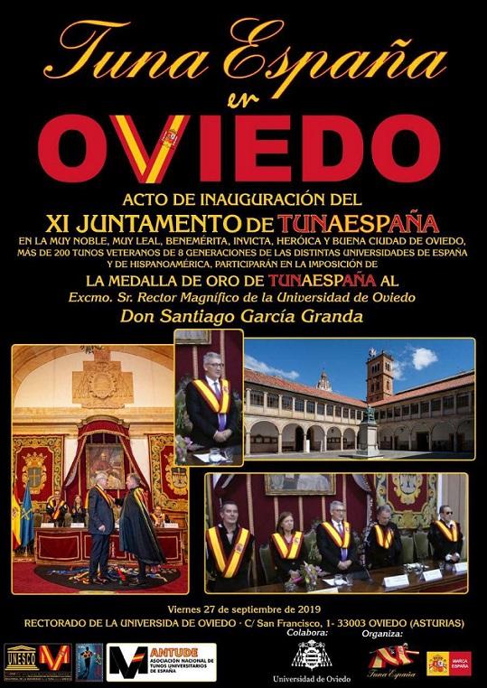 TunaEspa, Rector Universidad Oviedo, Carlos ESpinosa Celdran, Don Dudo, Santiago Garcia Granda