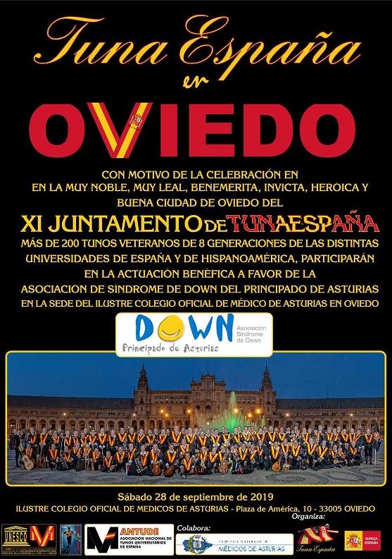 Tuna España – Universitaria » Blog Archive » juntamento-tunaespaña-oviedo -actuacion-benefica-sindrome-de-Down-don-dudo-carlos-espinosa-celdran