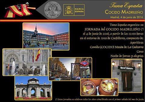 TunaEspaña, Cocidito Madrileño