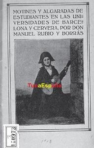 TunaEspaña, Archivo buen tunar, Libros tuna, Bibliografia tuna,05,a