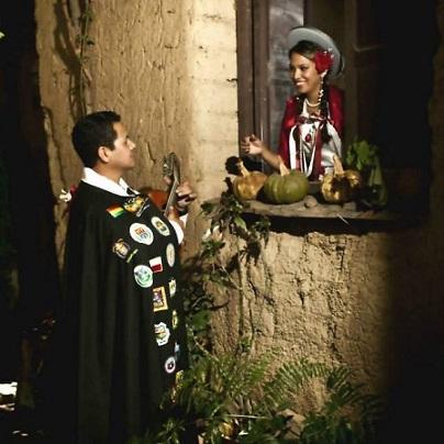 TunaEspaña, Luis Téllez ,DonChipi, DonDudo Tuna de Distrito de la Universidad Mayor Real y Pontificia de San Francisco Xavier de Chuquisaca, Sucre,Bolivia,