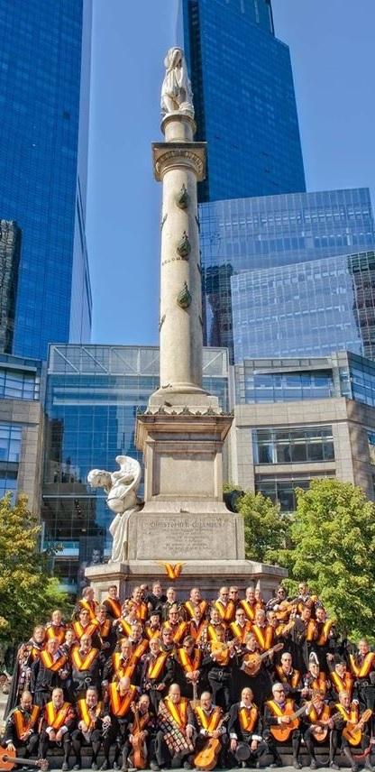 Cristobal Colon, Nueva York,TunaEspaña, DonDudo, Central Park, columbus cercle