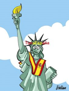 Tuna España Nueva York, Desfile Hispanidad, Don Dudo,