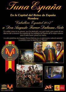 Augusto Ferrer-Dalmau, Carlos Espinosa Celdran, TunaEspaña,70