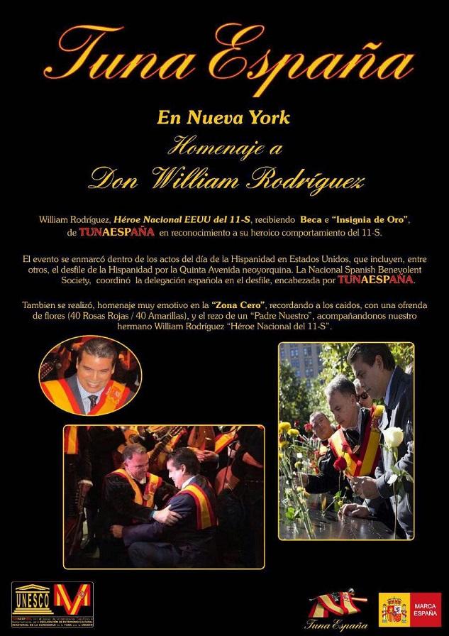 Carlos Espinosa Celdran,TunaEspaña, Don Dudo, William Rodriguez, Heroe Nacional 11s,70