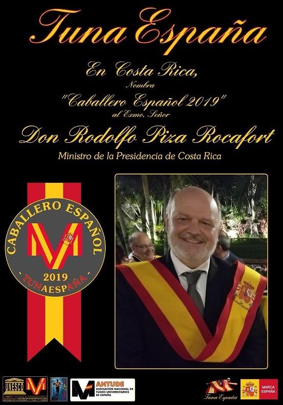Tuna España – Universitaria » TunaEspaña: Insignias de oro «Caballero Español»