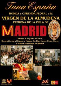 TunaEspaña, Don Dudo, DonDudo, Carlos Espinosa Celdran, virgen de la almudena, cardenal arzobispo de madrid carlos osoro BORRADO