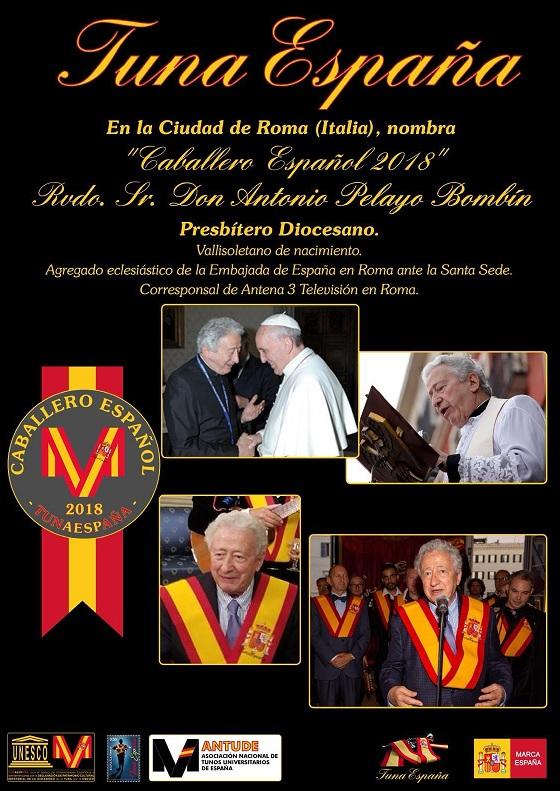 TunaEspaña, Roma, Vaticano, Embajada de España ante la Santa SEDE, Antonio Pelayo Bombín, Don Dudo, Carlos Espinosa Celdran