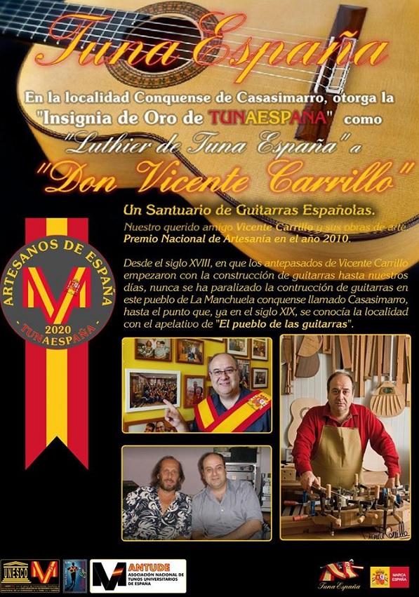TunaEspaña, Vicente Carrillo, Casasimarro, Don Dudo, Carlos Espinosa