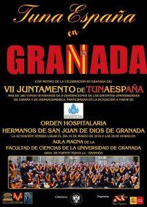 San Juan de Dios,TunaEspaña, Juntamento Granada, Don Dudo, Carlos ignacio Espinosa Celdran,