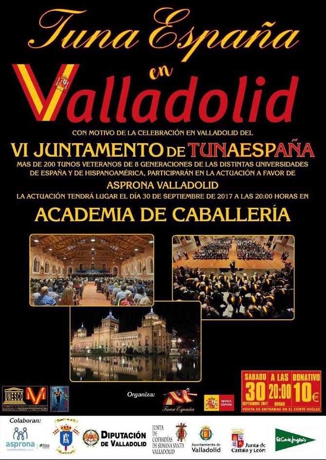 TunaEspaña, Carlos Espinosa Celdran, DonDudo, Don Dudo, academia de caballeria de valladolid, Tuna España, Juntamento Valladolid