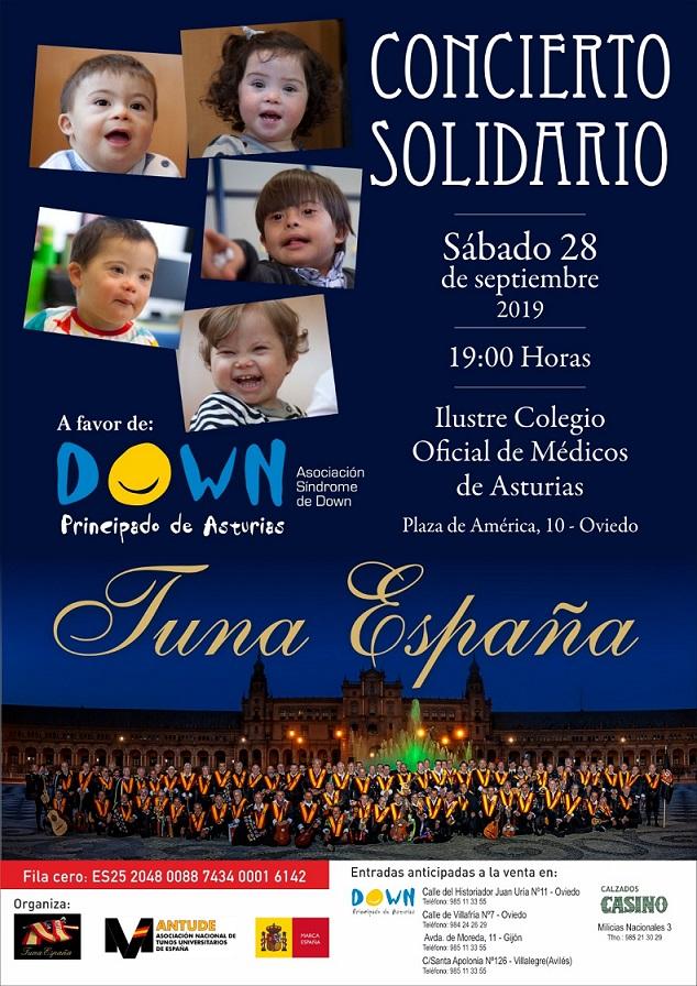 TunaEspaña, Concierto Solidario, Benefico, Carlos Espinosa Celdran, Don Dudo
