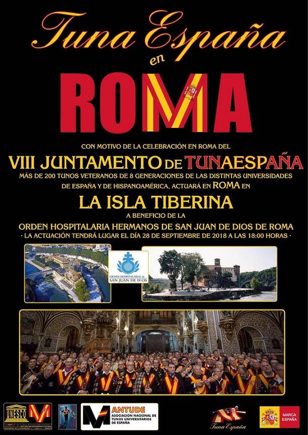 TunaEspaña, Isla Tiberina, San Juan de Dios Roma, Don Dudo, 90