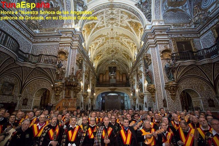 TunaEspaña, Virgen de las Angustias Granada, Universidad de Granada,Carlos Espinosa, Don Dudo