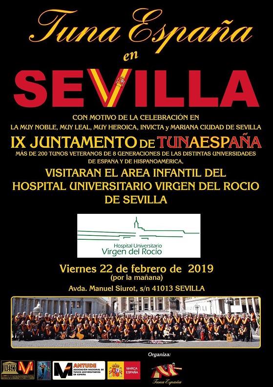 TunaEspaña,Hospital Virgen del Rocio,juntamento, Carlos Espinosa Celdrán , Sevilla