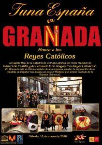 TunaEspaña, Juntamento Granada, Don Dudo, Carlos ignacio Espinosa Celdran,Reyes Católicos, Real Capilla