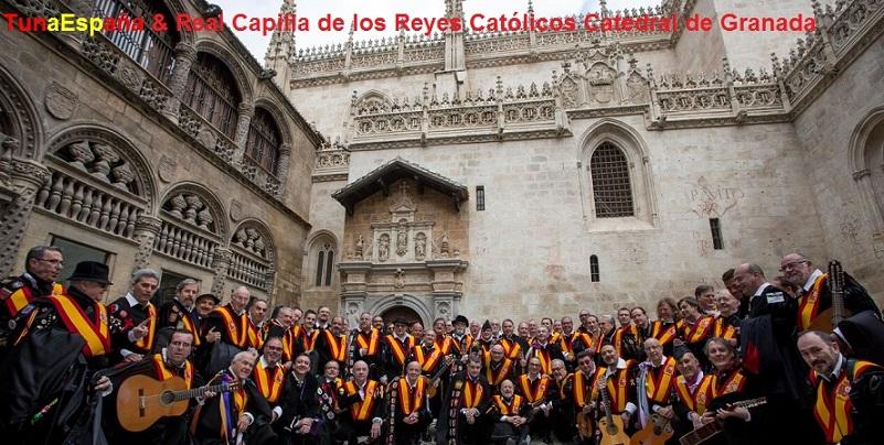 TunaEspaña, Carlos Espinosa Celdran, Don Dudo, Reyes Catolicos, real Capilla Real, Granada, dism