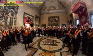 TunaEspaña, Don Dudo, Roma, Embajada España ante la Santa Sede, Carlos Espinosa Celdran