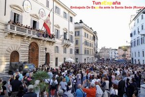 TunaEspaña, Embajada ante la Santa Sede