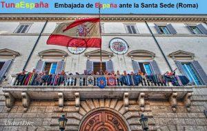 TunaEspaña, Embajada de España ante la Santa Sede, dism