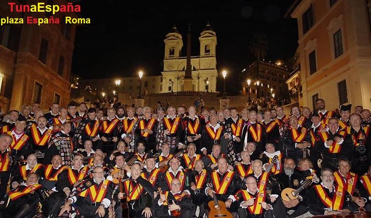 TunaEspaña, Plaza España Roma, TunaEspaña, Don Dudo