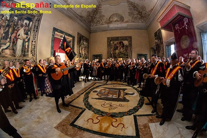 Juntamento Roma, TunaEspaña, Don Dudo, Carlos Ign Espinosa Celdran, 90
