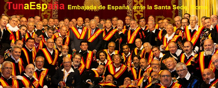 TunaEspaña, Don Dudo, Juntamento Roma, Embajada de España Santa SEde, Carlos I. Espinosa.jpg