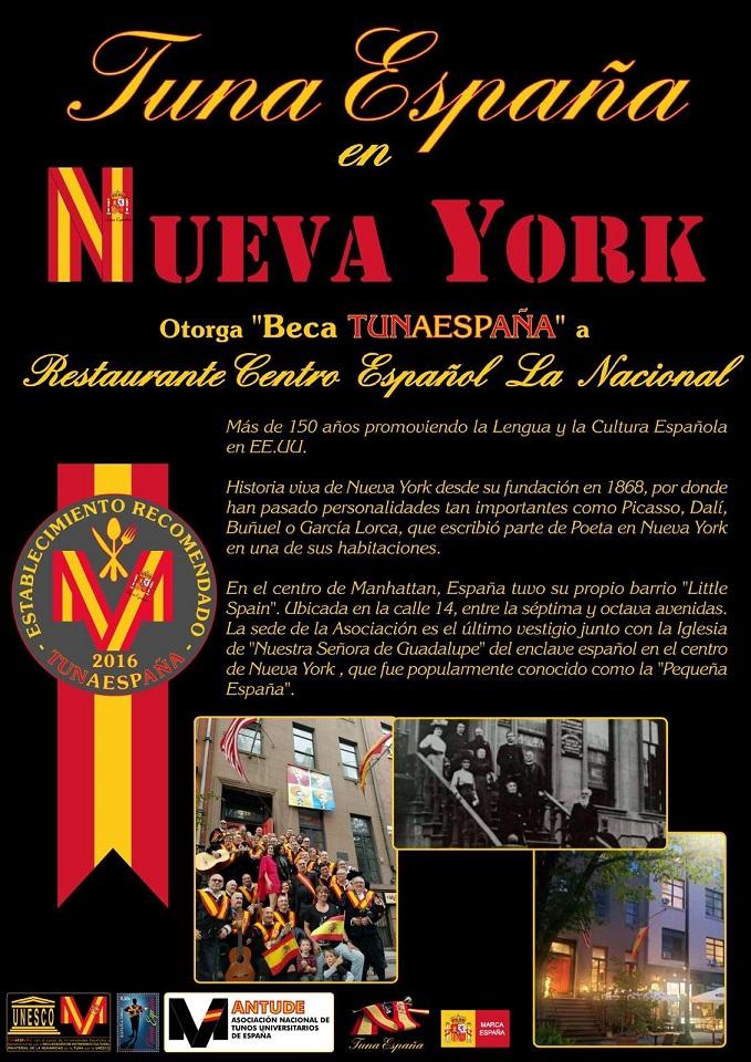 TunaEspaña, Nueva York, La Nacional, DonDudo, Carlos Espinosa