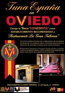 juntamento-tunaespaña-Oviedo, Gran Taberna,-don-dudo-carlos-espinosa-celdran-